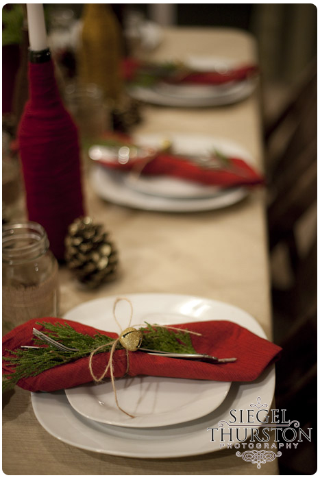 A Rustic Inspired Christmas Party Siegel Thurston