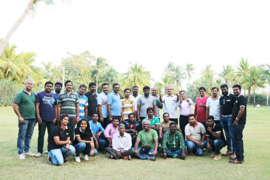With Symrise India Project Team