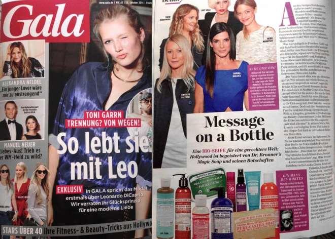 Message on a Bottle (für Gala)