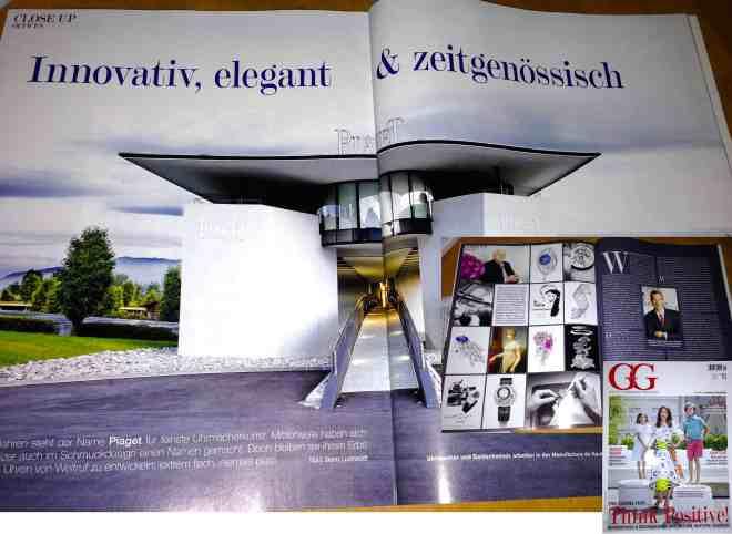 Piaget: Innovativ, elegant & zeitgenössisch (für Grund Genug)