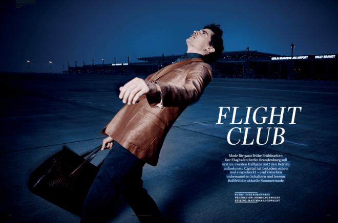 Flight Club am BER Airport (für Capital)