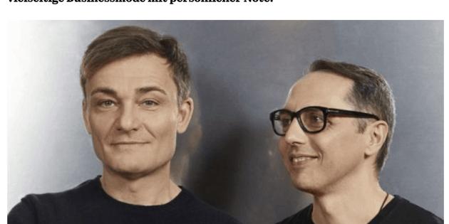 Was Mann trägt: Tommaso Aquilano & Roberto Rimondi, Fay (für Capital.de)