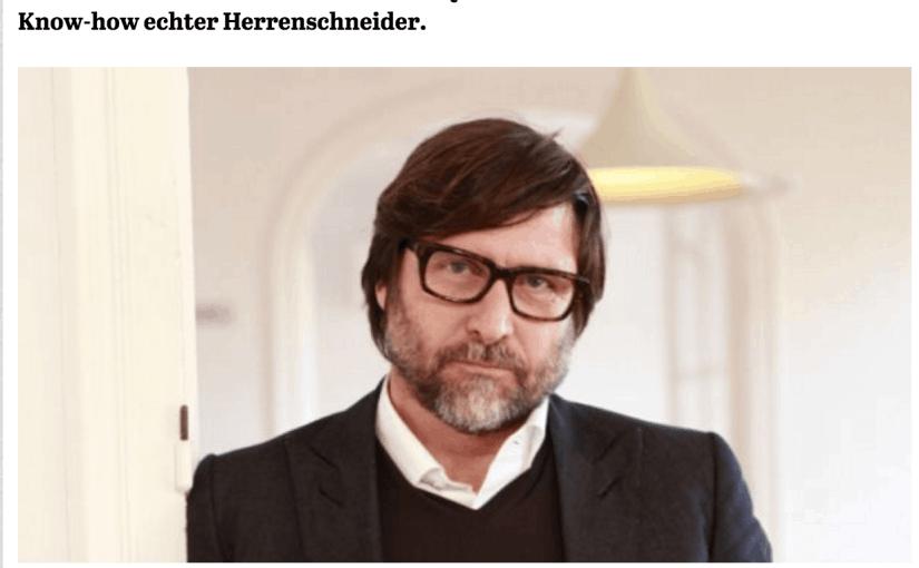 Was Mann trägt: Claudio Marenzi, Herno (für Capital.de)
