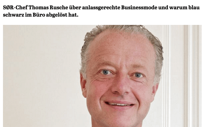 Was Mann trägt: Thomas Rusche, SØR (für Capital.de)