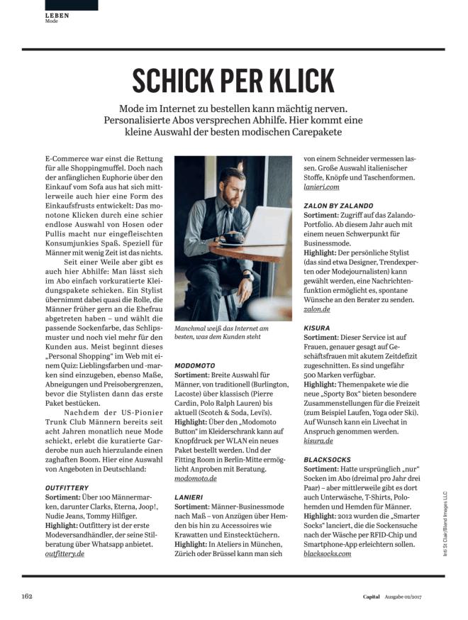Schick per Klick (für Capital)