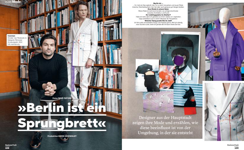 Berlin als Mode-Sprungbrett (für Business Punk)