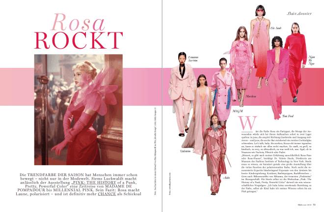 Rosa rockt! (für Flair)