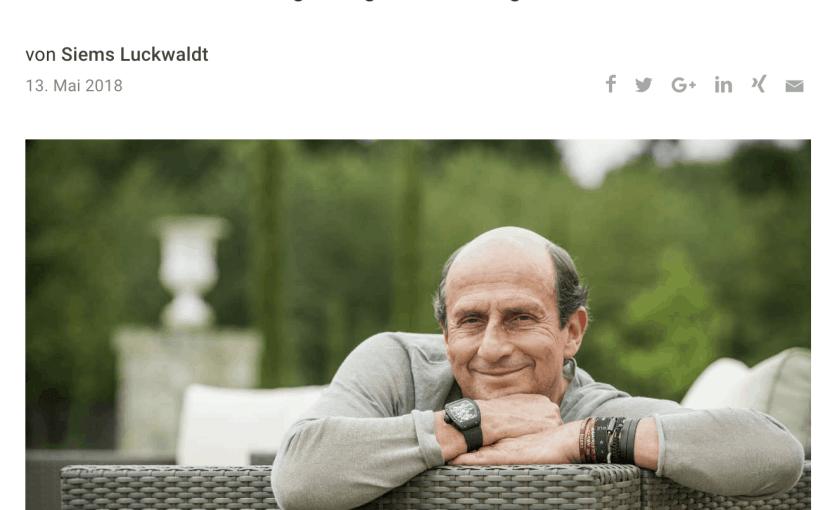 Zeitfragen: Richard Mille (für Capital.de)