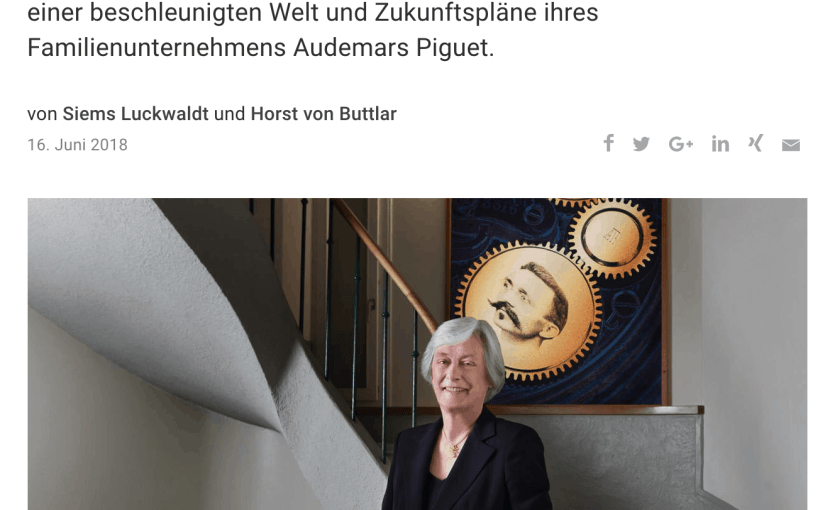 Interview: Jasmine Audemars, Audemars Piguet (für Capital.de)