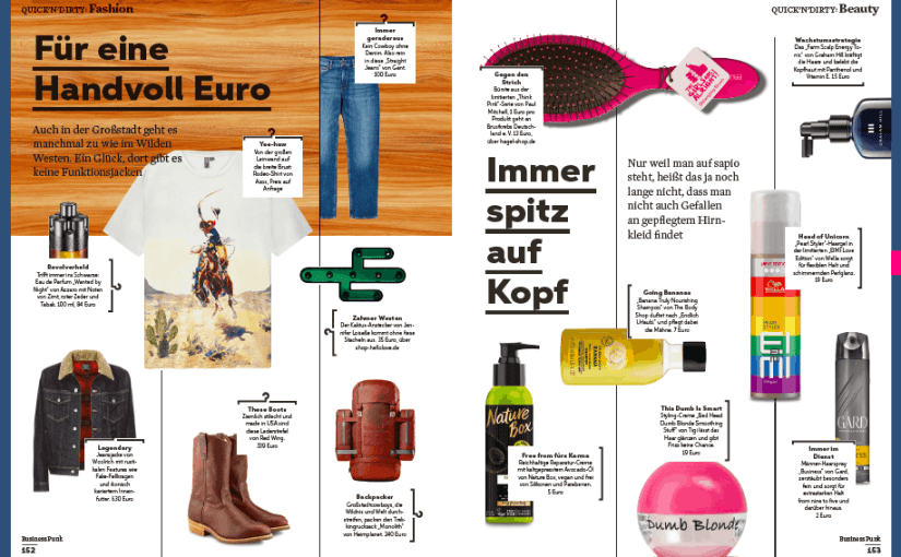 Quick 'N' Dirty: Fashion & Beauty (für Business Punk)
