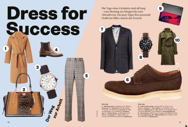 Dress for Success (für Die Höhle der Löwen)