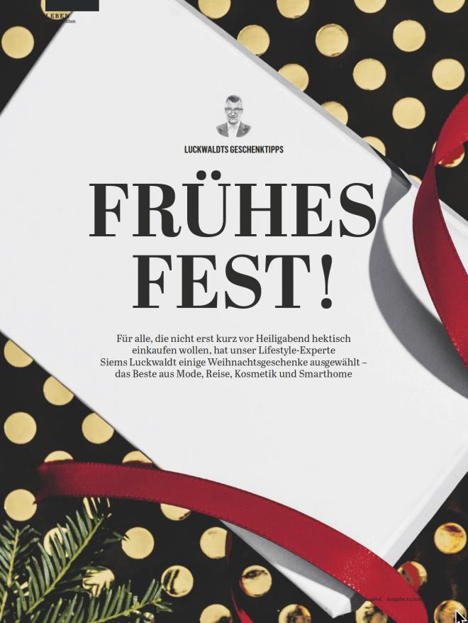 Frühes Fest 2018! (für Capital)