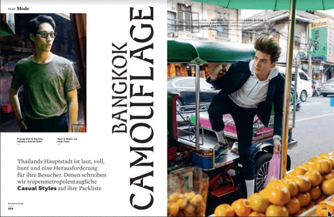 Bangkok Camouflage (für Business Punk)