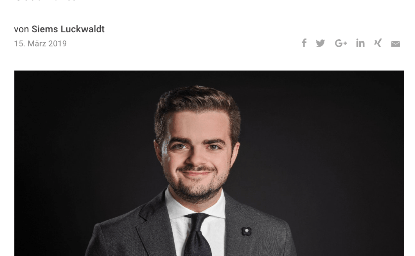 Capital Watch Award 2018: Meet the Jury – David Schank, Watchlounge (für Capital.de)