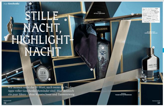 Stille Nacht, Highlight-Nacht (für Business Punk)