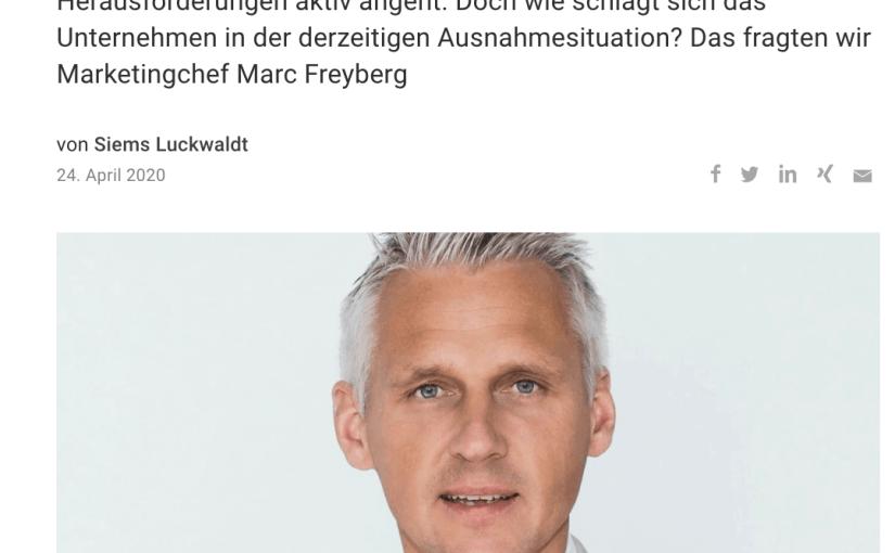 Interview: Marc Freyberg, Brax (für Capital.de)