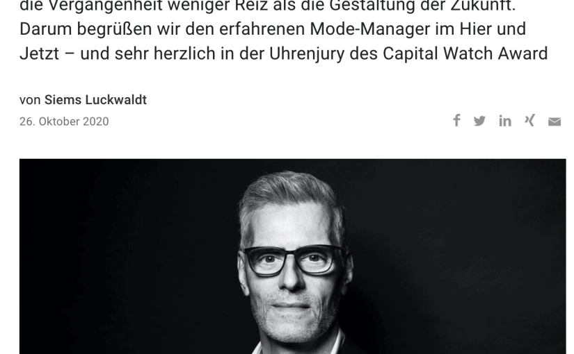 Capital Watch Award 2020: Meet the Jury – Marc Svojanovsky, Digel (für Capital.de)