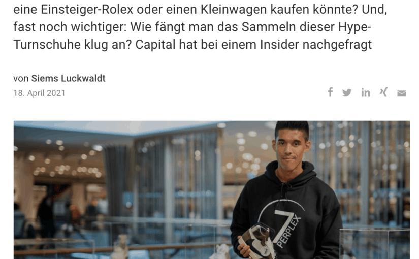 Interview: Philipp Kassel, 7 Perplex (für Capital.de)