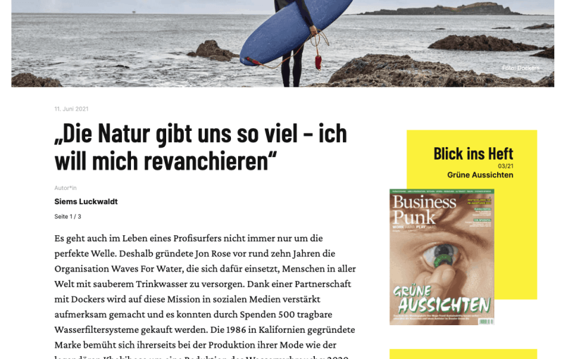 Interview: Kepa Acero, Ocean52 (für Business Punk)