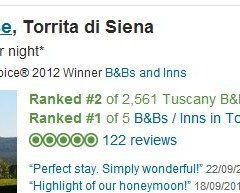 top ten Tuscany on Trip Advisor
