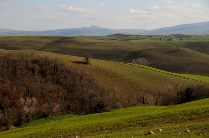 You'll need a car to enjoy the countryside of Tuscany