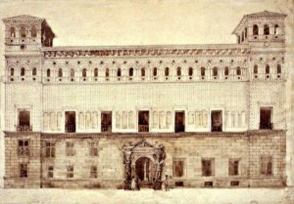 Palacio de la Audiencia ca. 1840