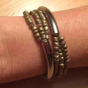 Armband Ardi olijfgroen