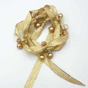 Armband Fleur van glitterband