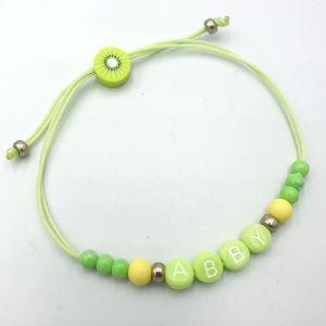 Ibiza armbandje lime kiwi