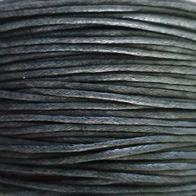 waxkoord Antraciet grijs