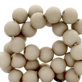 Acryl kralen beige
