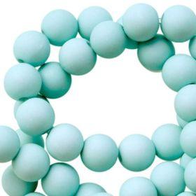 Acryl kralen aded turquoise