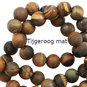 halfedelsteen tigereye mat