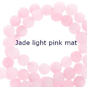 Jade light pink mat