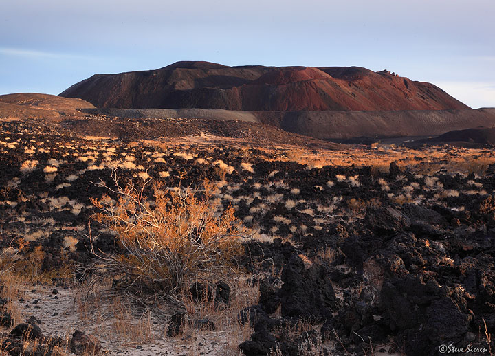 A large cinder cone in the proposed Mojave Trails National Monument