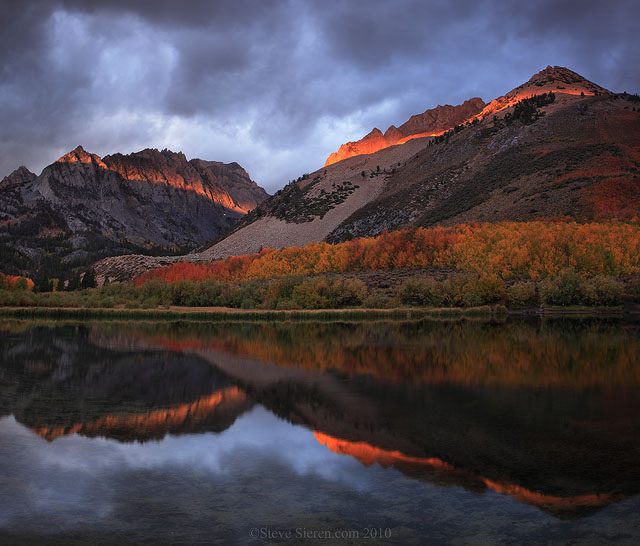 North Lake Eastern Sierra in the fall.