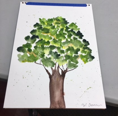 Artwork by student in March 10th class