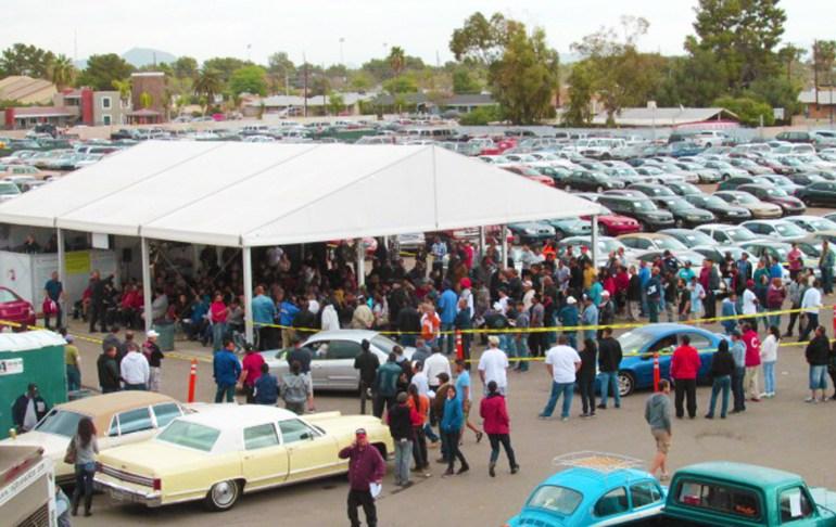 Police auto auction