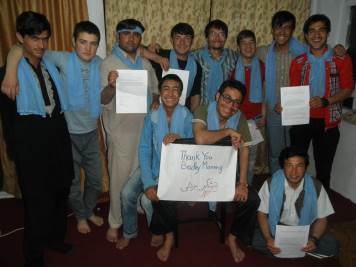 Abdul Ali, Faiz Ahmad, Abdulhai, Raz Mohammad, Basir Bita, Barath Khan, Ghulam Hussein, Dr. Hakim and others are the Afghan Peace Volunteers. This is distributed by Voices for Creative Nonviolence and PeaceVoice.