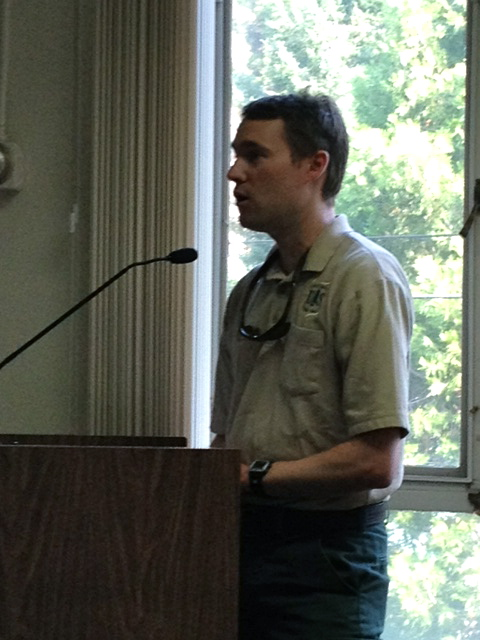 "Acting District Ranger Jonathan Cook Fisher tells the Board he has an ""open door"" approach to communication and is looking forward to the coming months working with Sierra County."