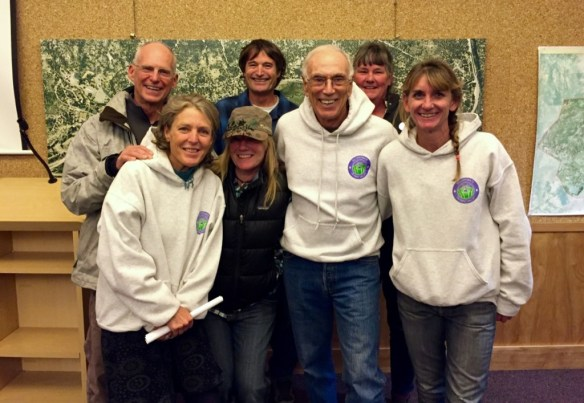 Incorporate Olympic Valley board members had plenty to smile about