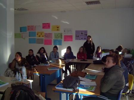 Participantes en uno de los cursos.