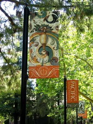 University of the Pacific Banners