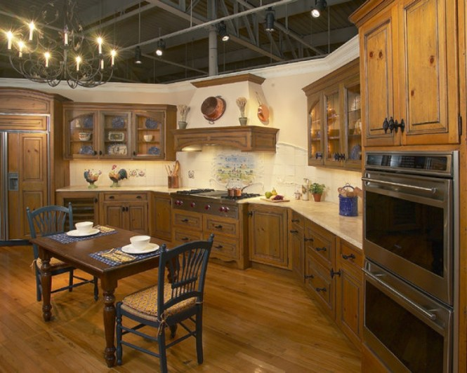 Shining Design French Country Kitchen Decorating Inside Modern Ideas