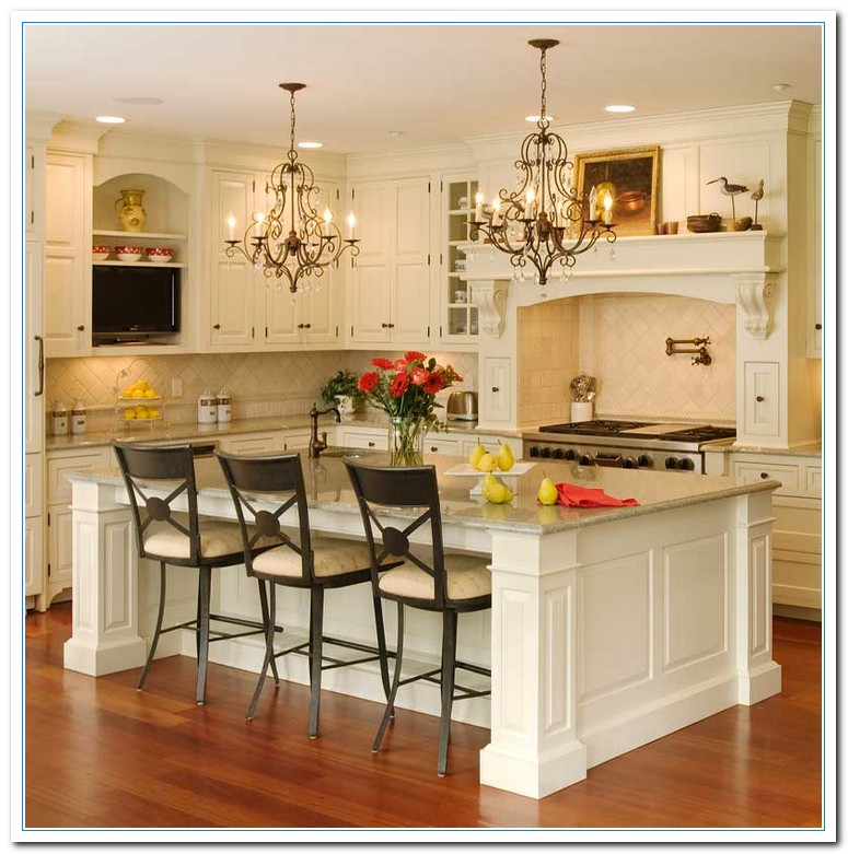 Picture Decorating Ideas for Kitchen | Home and Cabinet ... on Kitchen Counter Decor  id=81737