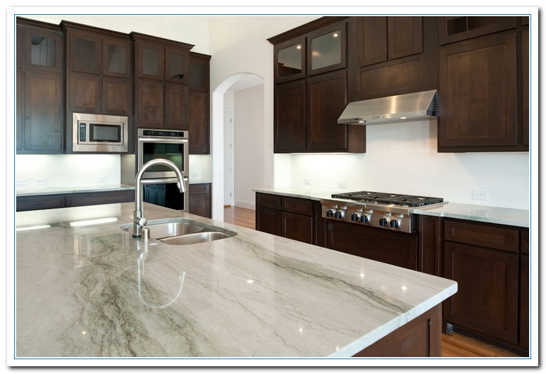 Attrayant White Cabinets Dark Countertops Details Home And Cabinet Reviews