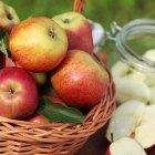Manzanas en Sierra Lago, cosecha y preparación