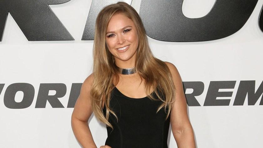 Ronda Rousey.- Luchadora de MMA