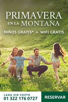 Primavera en la montaña Sierra Lago Resort