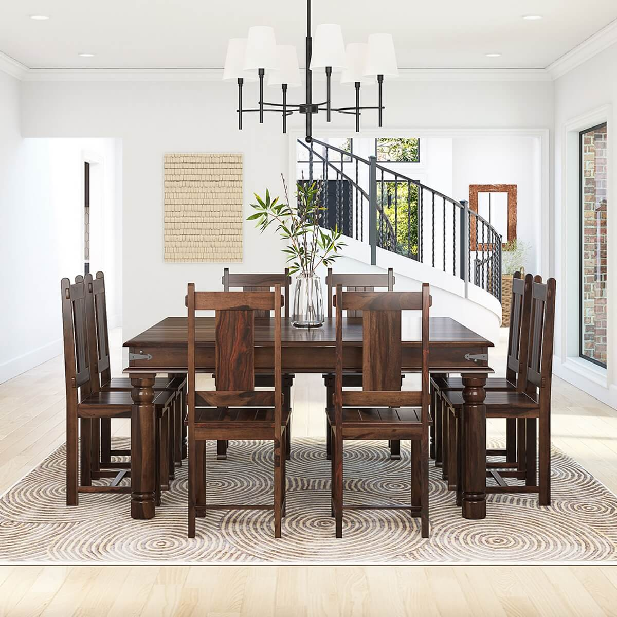 Rustic Dining Table And Chairs